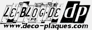 LE BLOG de www.deco-plaques.com