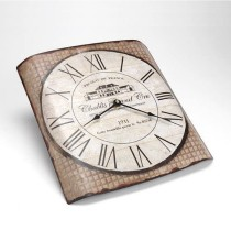 Horloge Métal Chablis