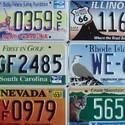 Plaques autos USA