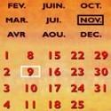 Plaques calendriers perpétuels