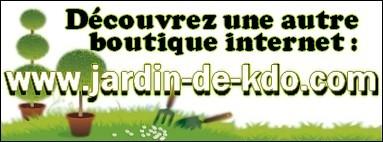 Découvrez notre 1er site : www.jardin-de-kdo.com