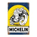 Plaque Michelin Pneu Moto