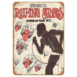 Plaque Rolling Stones American Tour 1972