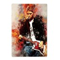 Plaque Kurt Cobain de Nirvana
