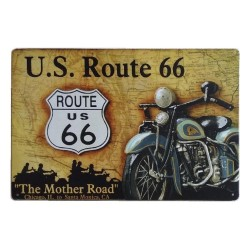 Plaque US Route 66 Mother Road