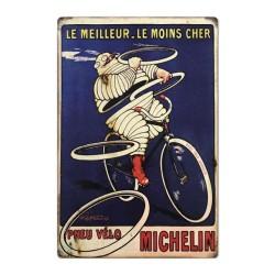 Plaque Michelin Meilleur & Moins Cher