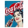 Plaque Coca-Cola Pop Girl