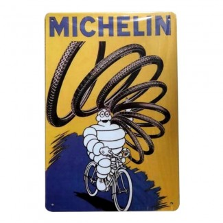 Plaque Michelin Pneus Vélos