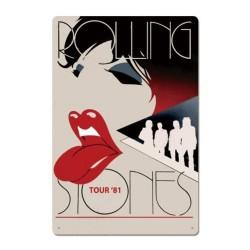 Plaque Rolling Stones Tour 1981