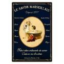 Plaque Le Savon Marseillais