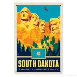 Plaque Mont Rushmore Dakota du Sud