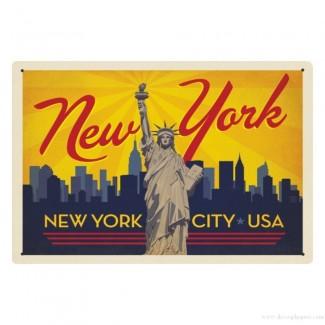 Plaque New York City USA