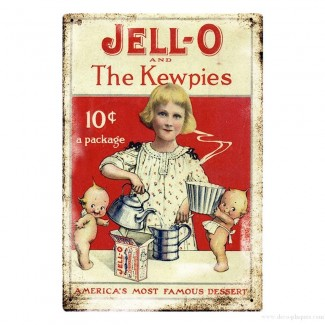 Plaque Jell-O & The Kewpies