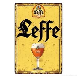 Plaque Bière Abbaye de Leffe