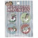 Pack de 4 magnets Souvenirs d'enfance