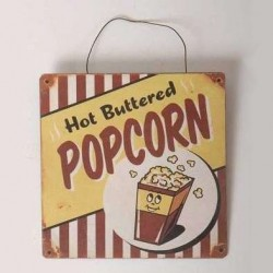 Plaque Pop Corn