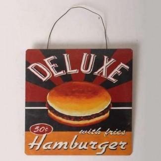 Plaque Hamburger 50 cts Deluxe