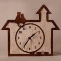 Horloge Chats et Souris