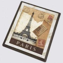 Tableau bois vieux Paris