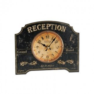 Horloge à poser Réception hôtel