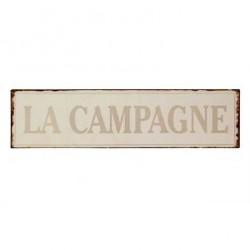 Plaque Campagne Vieillie