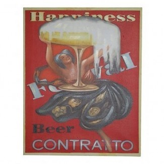 Toile Châssis Beer Contratto