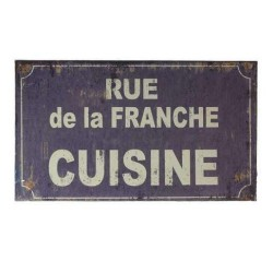Plaque Rue de la Franche Cuisine