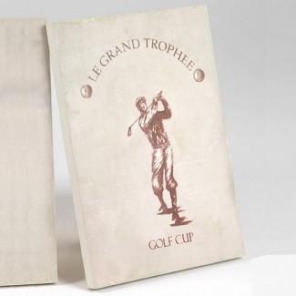 Toile Golf Cup Grand Trophée