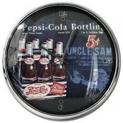 """Horloge Pepsi-Cola """"Oncle Sam"""""""