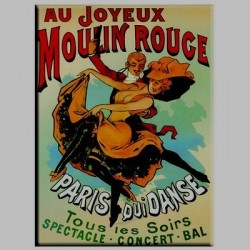 Magnet Moulin Rouge Paris