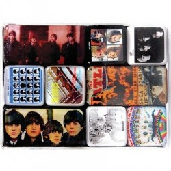 Set de 9 magnets The Beatles