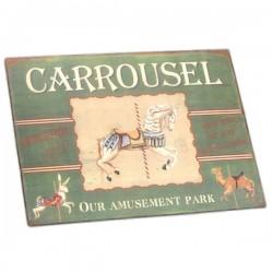 Plaque Manège Carrousel