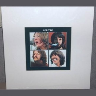 Cadre Let It Be Beatles