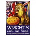 Plaque de pub savon Lion UK