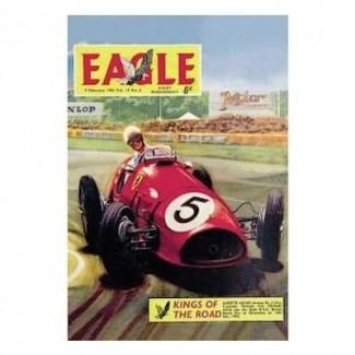 Plaque Métal Magazine Eagle