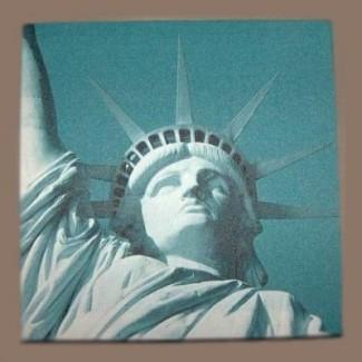 Toile imprimée Statue de la Liberté