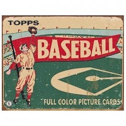 Plaque Topps Cards Baseball 1954