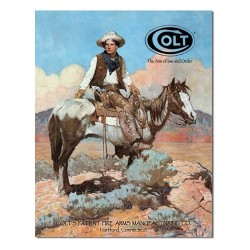 Plaque USA Colt Western
