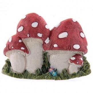 Magnet champignons magiques résine
