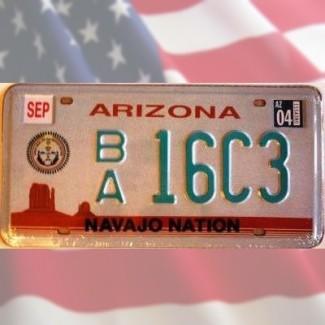 Plaque Arizona Navajo Nation