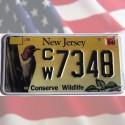 Plaque USA New Jersey - Conserve Wildlife