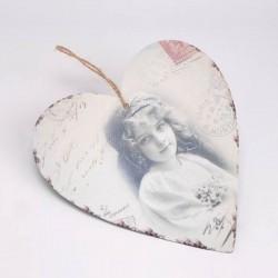 Coeur mélancolie à suspendre