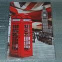 """Plaque UK """"Phone and Big Ben"""""""