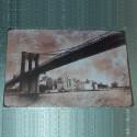 """Plaque """"Pont de Brooklyn"""""""