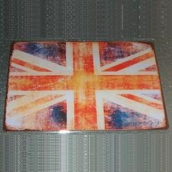Plaque Union Jack Vintage
