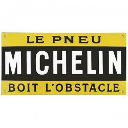 Plaque Pneu Michelin