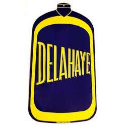 Plaque Auto Delahaye