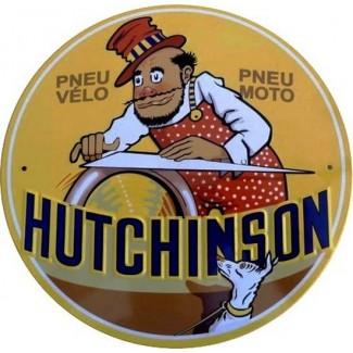 Plaque pneu vélo moto Hutchinson