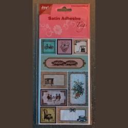 Planche de stickers satinés - Modèle 1