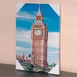 Toile imprimée Big Ben sur cadre